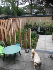 realisatie kleine achtertuin